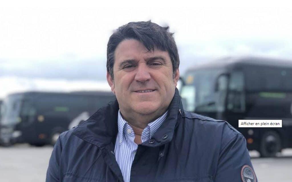 Alain Roué président du réseau de transport bus et cars Océlorn