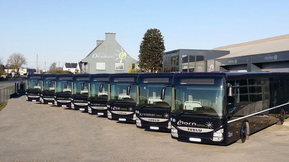 Élorn bus et cars, votre service de transport de groupes en Bretagne