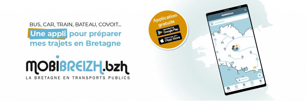 Organiser vos déplacements en Bretagne avec l'application mobile Mobibreizh