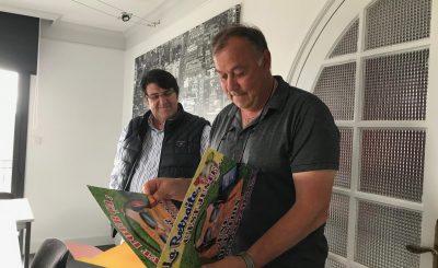 départ à la retraite de jean françois abilly avec Alain Roué dirigeant du réseau Océlorn