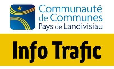 Info-trafic-navette gare de landivisiau Communauté de communes du pays de landivisiau